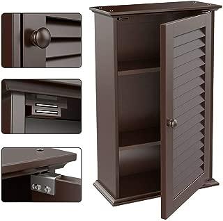 Wall Mount Bathroom Cabinet Storage Cupboard Medicine Organizer Kitchen Laundry