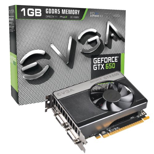 Evga Geforce Gtx 650 - 1 Gb Gddr5 - Pci Express 3.0 (01G-P4-2650-Kr)
