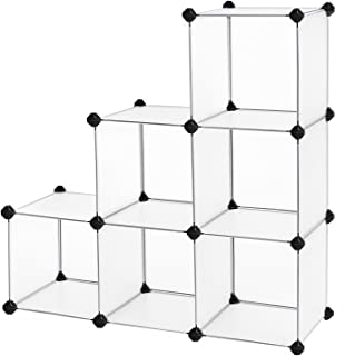 SONGMICS Storage Cube Organizer DIY Closet Cabinet Chests Space-Saving ULPC06W