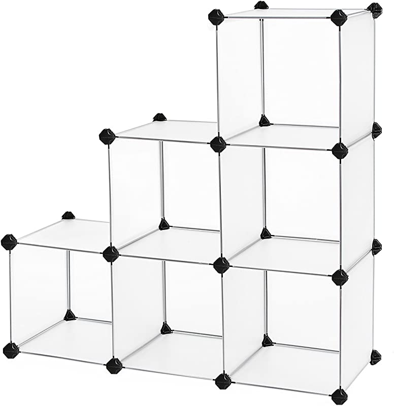SONGMICS Storage Cube Organizer DIY Closet Cabinet Chests Space Saving ULPC06W