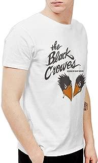 Men's The Black Crowes Kicking Short Sleeve T-Shirt White
