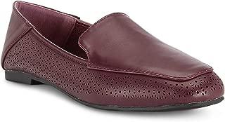 Ceriz Women's Acelin Burgundy Loafers