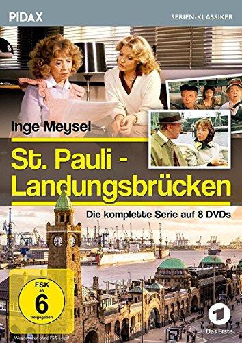 St. Pauli Landungsbrücken / Die komplette 60-teilige Kultserie (Pidax Serien-Klassiker) [8 DVDs]