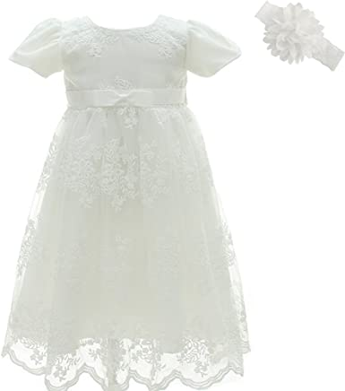 558e9ee2c AHAHA Baptism Gowns for Baby Girls Princess Wedding Dress Baby Birthday  Party Dresses for Special Occasion