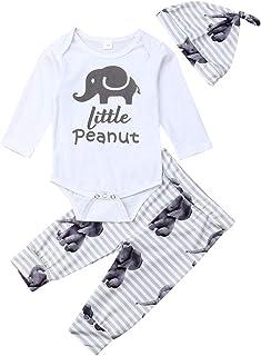 qidushop Little Peanut Baby Bodysuit for Baby Boy Girl