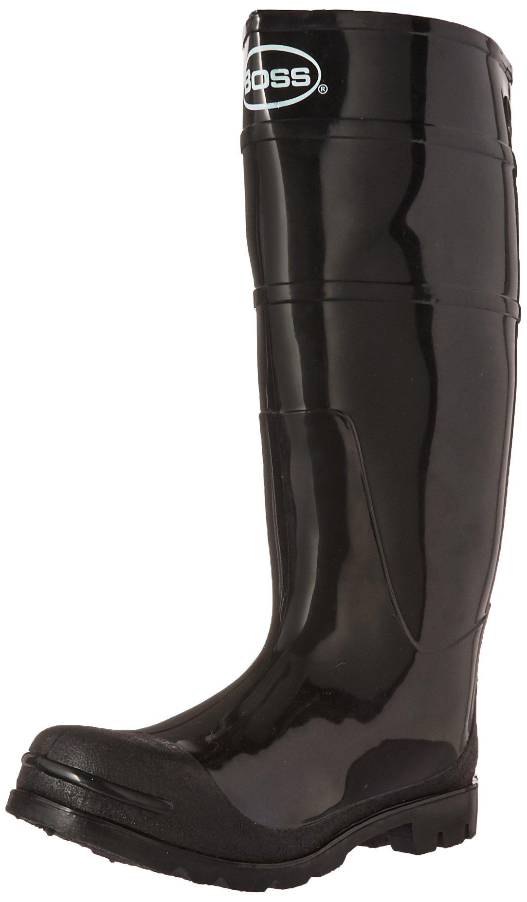 Boss 2KP200106 Men's Black Rubber Boots