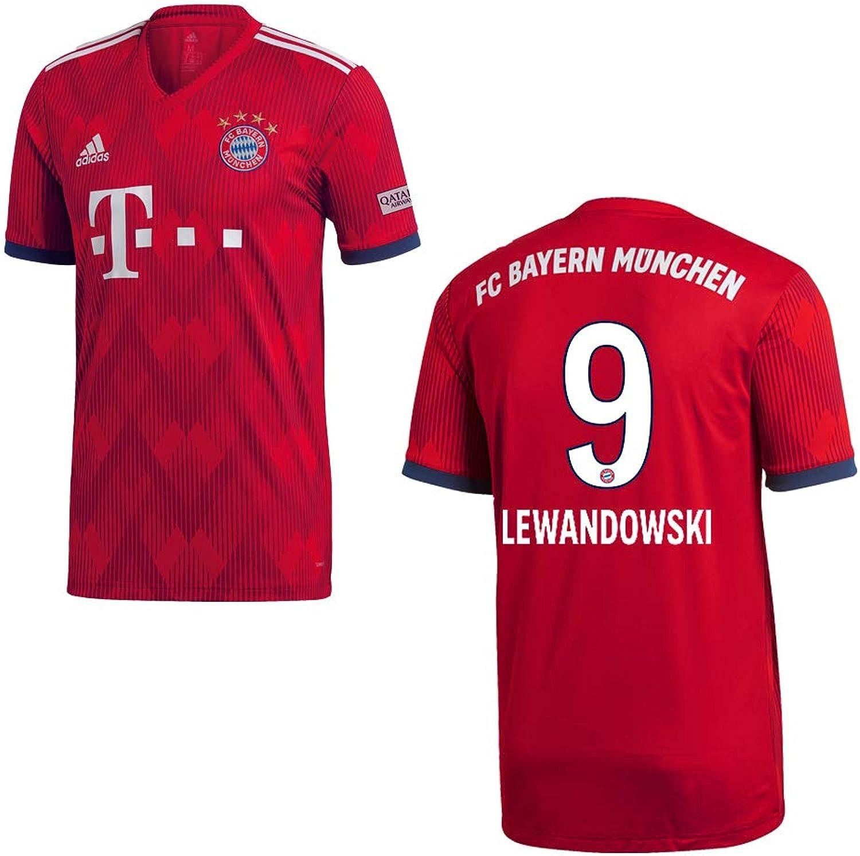 a4a840a6b3 Adidas FC Bayern MÜNCHEN Trikot Home Kinder 2019 - Lewandowski 9 B07HN9SBYS  Kunde zuerst