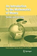 An Introduction to the Mathematics of Money: Saving and Investing