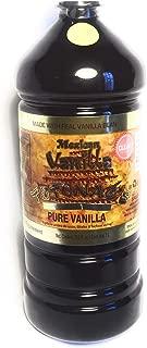 Authentic Clear Mexican Vanilla Totonacs 33.2 Oz (1 liter bottle)