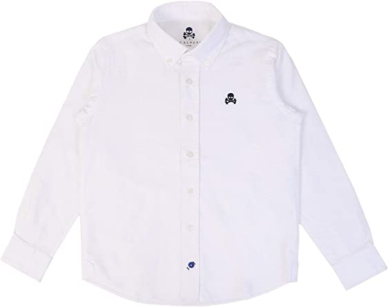 Scalpers Camisa Oxford Cuello Botones