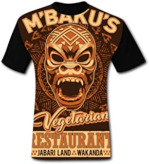Deborahbe We're Vegetarian Men's T-Shirt Short Sleeve Brisk Tee Shirt Sports Tshirt for Men