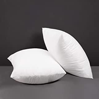 Amazon Com Cotton Pillow Inserts Decorative Pillows Inserts Covers Home Kitchen