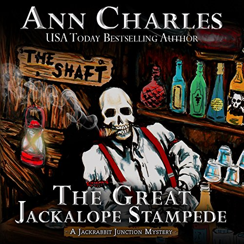 The Great Jackalope Stampede audiobook cover art