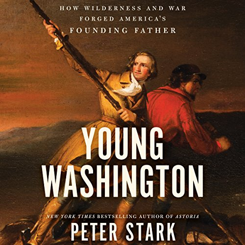 Young Washington audiobook cover art