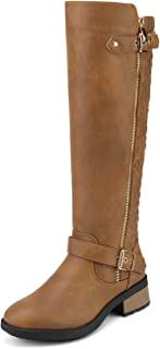 Best tan leather knee boots Reviews