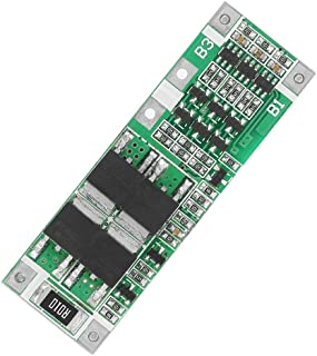 Lithium Cell Protection Board Li-ion Cell BMS PCB Board 3S 20A Battery Protection Board for fast and safe charging Support...