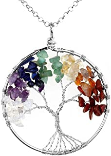 Best sterling silver chakra necklace Reviews