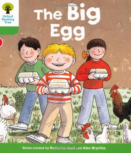 Oxford Reading Tree: Level 2: First Sentences: The Big Eggの詳細を見る