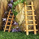 LULE Kit de casa de jardín de hadas – Puerta Elfin autoensamblable – Puerta de casa de hadas de madera para árbol – Decoración de jardín de hadas en miniatura (E)
