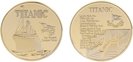 HittecH Challenge Coin Titanic Ship Incident Souvenir Collection Arts Gifts