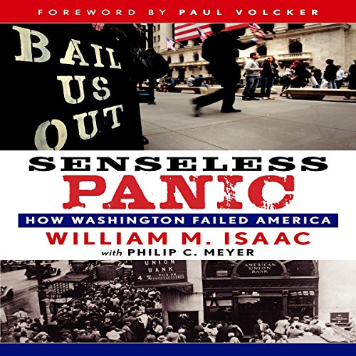 Senseless Panic audiobook cover art