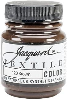 Jacquard Textile Color 2.25Oz Brown Acrylic Paint
