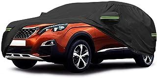 Big Ant B/âche Voiture pour SUV Housse de Protection Couverture,Voiture Coque /étanche Housse de Voiture pour Jeep Wrangler CJ,YJ,TJ,JK 4 Portes Quatre Saisons