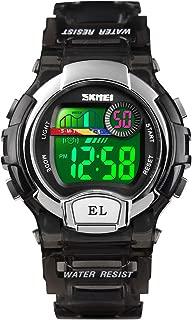 Kid Watch Multi Function 50M Waterproof Sport LED Stopwatch Digital Child Wristwatch for Boy Girl