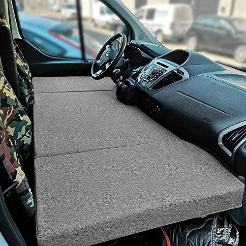 kfoam.es Colchón Plegable Cama Delantera Camper para Ford Transit Custom Color Gris (+2013)