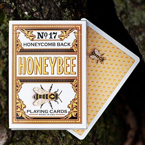 USPC Carte da Gioco Honeybee V2 - Yellow