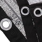 GUOOK Sun Shade Cloth Neto De Sombreado De Papel De Aluminio 99% Reflectante con Arandelas - Tela De ProteccióN Solar De Alta Resistencia Sun Reflect Pet Shade (TamañO: 4mx5m (13ftx16ft))