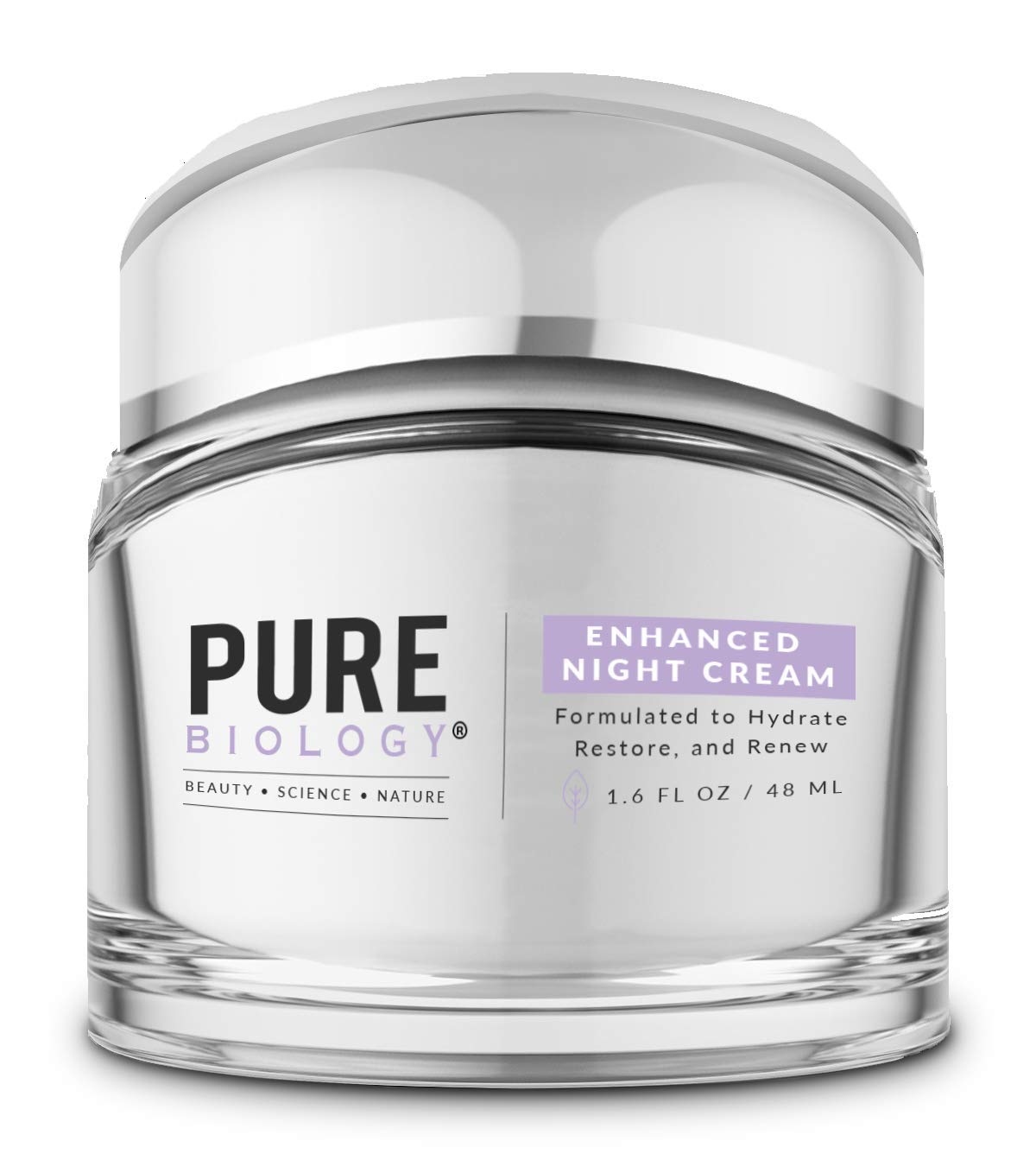 Pure Biology Premium Night Same day shipping Cream Face Cheap sale Clinicall with Moisturizer