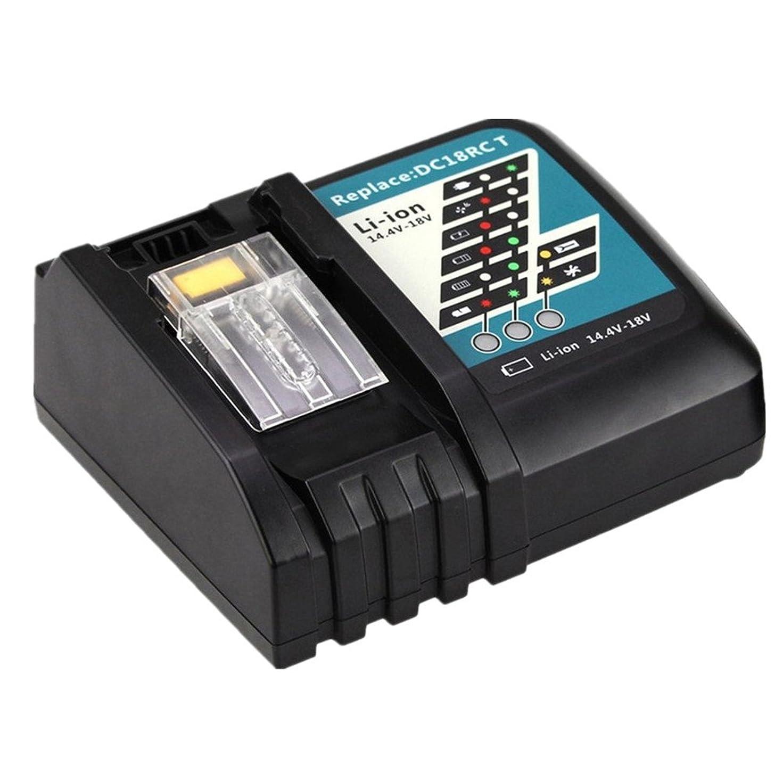 トチの実の木陪審ビスケットMoticett DC18RC マキタ充電器 14.4v~18v対応 互換充電器 bl1830 bl1840 bl1850 bl1860適用 一年品質保証
