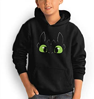 Kids' Hoodie Toothless Dragon Youth Sweatshirt with Pocket for Boys/Girls