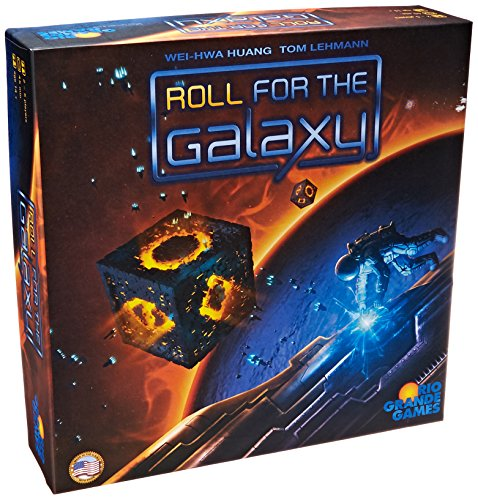 Rio Grande Games 492RGG - Roll for The Galaxy - Englische Version