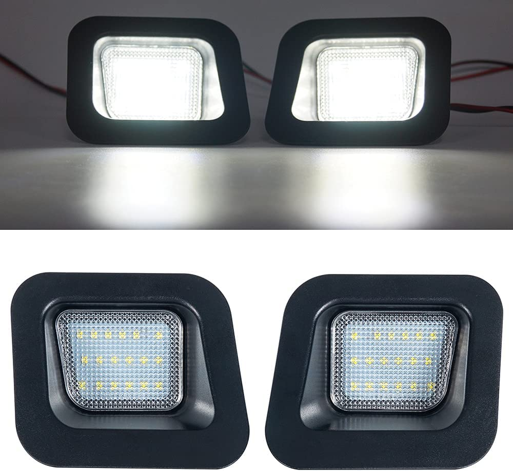 OPAP Full Led License Plate OFFicial shop Lights Assembly Large discharge sale Black Smoke Lamp Hou
