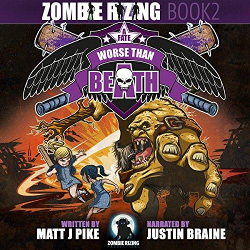 A Fate Worse Than Beath audiobook cover art