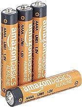 AmazonBasics AAAA 1.5 Volt Everyday Alkaline Batteries – Pack of 4