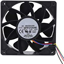 Shentesel FX-7500RPM 5A 4Pin Cooling Fan Mining Heat Cooler for Antminer Bitmain S7 S9 - Black