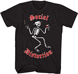 Social Distortion Tシャツ Skeleton Logo Social Distortion T-Shirt