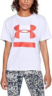 Camiseta Under Armour Big Logo Feminina Off White