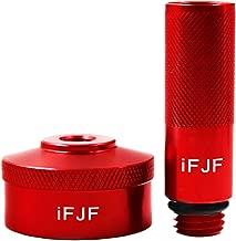 iFJF Aluminum Extended Run Gas Cap Adapter fit 1/4