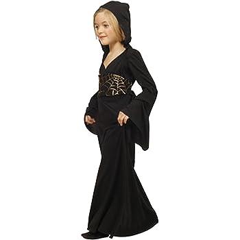 César - Disfraz de bruja para niña (de 5/7 años): Amazon.es ...