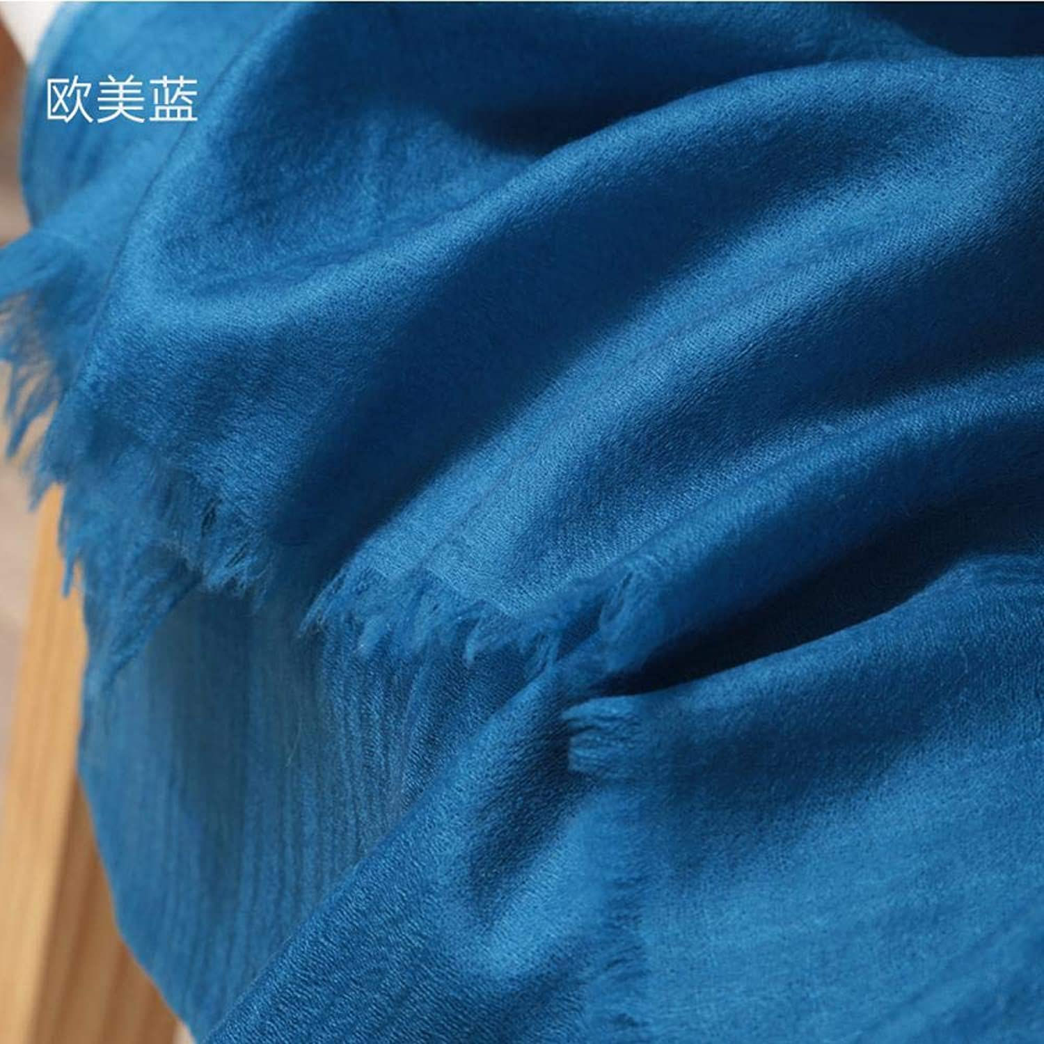 Gquan Fashion Scarf highGrade Warm Scarf Shawl Lady's Solid color Thickened Fashion Shawl Scarf