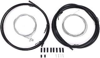 Keenso Cable Metal de Freno, Kit de Funda de Cable de Freno de Cambio de Bicicleta