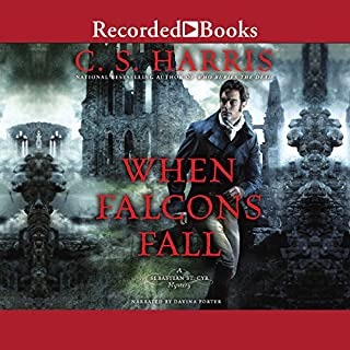 When Falcons Fall audiobook cover art