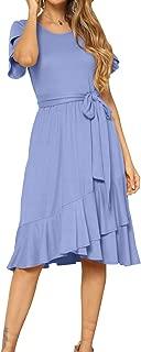 light dusty blue dress