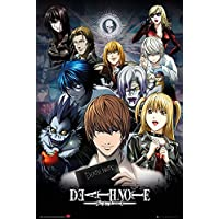 GB Eye Limited Death Note Collage Poster, Madera, Multicolor, 24-Inches x 36-Inches