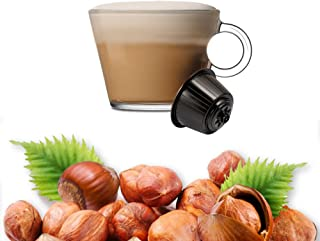 32 Capsules Cappuccino Saveur Noisette Compatibles Nescafè Dolce Gusto - Café Kickkick