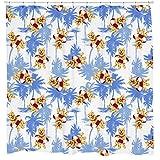 H& Urlaub Duschvorhang von Sharp Shirter, multi, 180 cm x 188 cm(Standard)